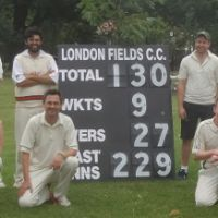 Hackney Umpires supports HCLC