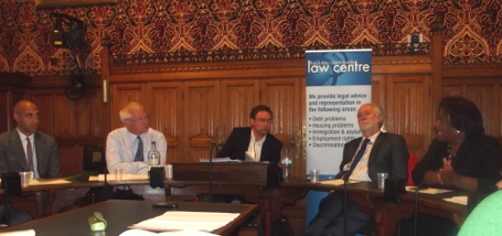 """The LASPO Act is contrary to who we are as a people"" - HCLC & Justice Gap Westminster Debate"
