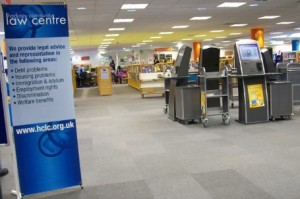 Community Law Shops Services returns on Monday 3rd September