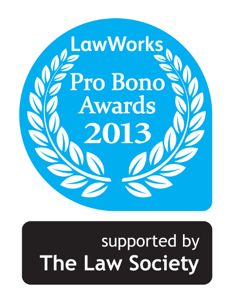 Dalston Pop-Up shortlisted for Law Works Pro Bono Awards 2013!
