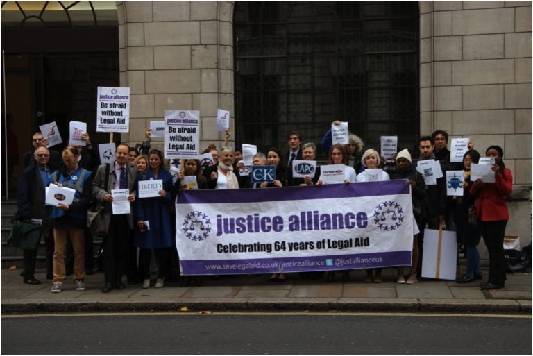 Save Legal Aid! Demonstrate on Monday 6th January 2014