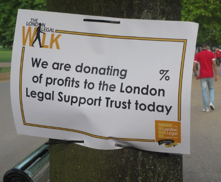 We Walked the 2014 London Legal Walk!
