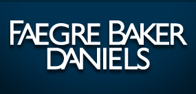 Thank you to the Faegre Baker Daniels Foundation!