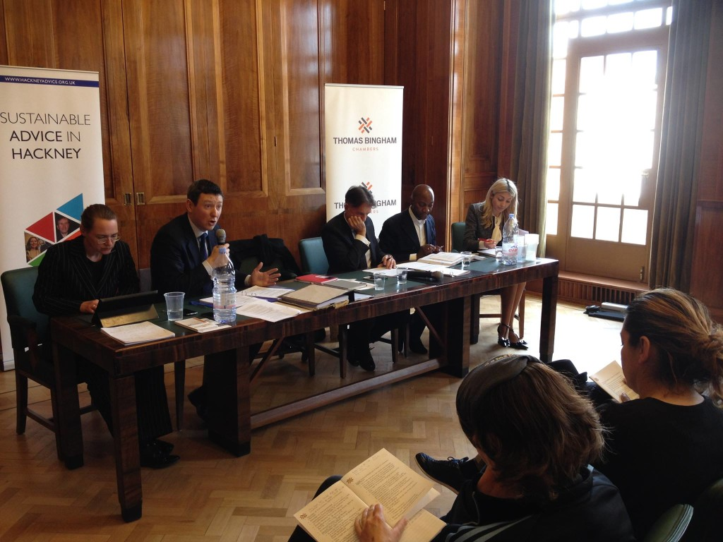 Thomas Bingham Chambers delivers Immigration Law Training in Hackney
