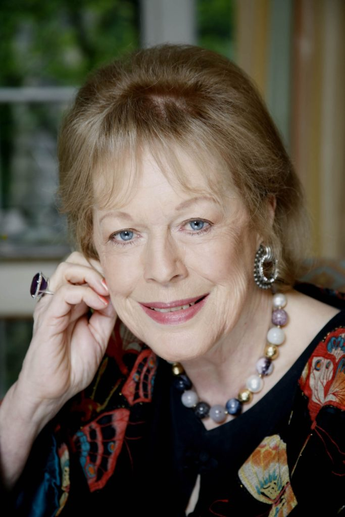 Lady Antonia Fraser DBE makes a donation to HCLC in loving memory of Harold Pinter